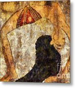 dancer of ancient Egypt Metal Print