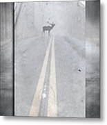 Danger Ahead Metal Print by Edward Fielding
