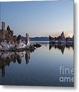 Dawn On Mono Lake Metal Print
