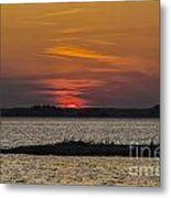 Day Is Done Metal Print by Joe McCormack Jr