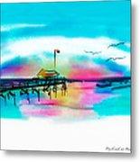 Daybreak At Pawleys Island Metal Print