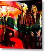 Def Leppard Metal Print