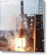 Delta Iv Rocket Launch Metal Print