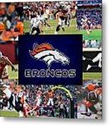 Denver Broncos Metal Print by Joe Hamilton
