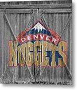 Denver Nuggets Metal Print by Joe Hamilton