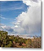 Desert Clouds Metal Print