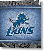 Detroit Lions Metal Print