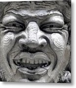 Devilish Smile Metal Print