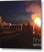 Diamond Jubilee Beacon On Epsom Downs Surrey Uk Metal Print