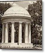 District Of Columbia War Memorial Metal Print