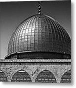 Dome Of The Rock Metal Print by Amr Miqdadi