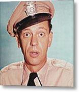 Don Knotts In The Andy Griffith Show Metal Print