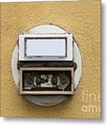 Doorbells Metal Print