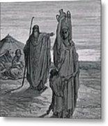 Dore, Paul Gustave 1832-1883. La Sainte Metal Print