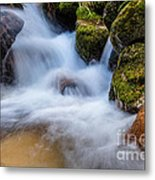 Down The Mountain Metal Print