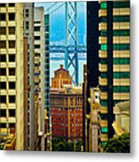 Down To The Bay Metal Print