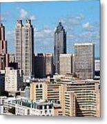 Downtown Atlanta Metal Print