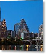Downtown Austin Skyline Metal Print
