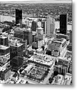 Downtown Skyline Of Toledo Ohio Metal Print