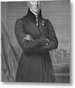 Duke Of Wellington (1769-1852) Metal Print