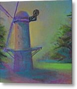 Dutch Windmill 02 Metal Print