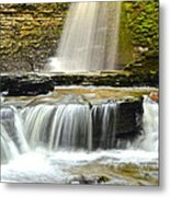 Eagle Cliff Falls Metal Print