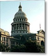 Early Morning At The Texas State Capital Metal Print