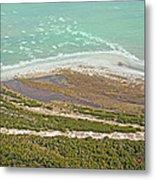 East Coast Aerial Near Jekyll Island Metal Print