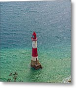 Eastbourne Light House Metal Print