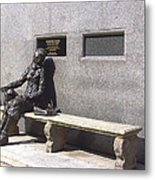 Eleanor Rigby Statue Liverpool Uk Metal Print