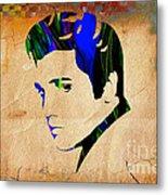 Elvis Presly Wall Art Metal Print