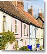 English Cottages Metal Print