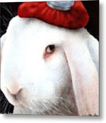 Even My Hare Hurts... Metal Print