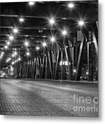 Evening In The City Metal Print