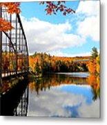 Autumn In Upper Michigan Metal Print