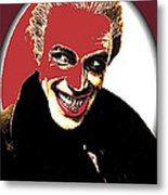 Film Homage Conrad Veidt The Man Who Laughs 1928-2013 Metal Print
