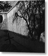 Film Noir Kim Novak Vertigo 1958 Graveyard Tumacacori Mission Tumacacori Arizona 1979-2008 Metal Print