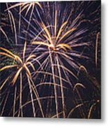 Fireworks Celebration  Metal Print by Garry Gay