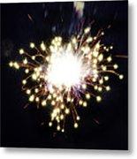 Fireworks Shell Burst Metal Print by Jay Droggitis