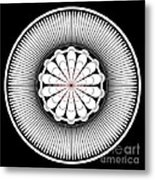 Floral Ornament Metal Print