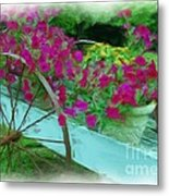 Flower Pot 2 Metal Print