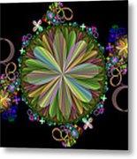 Flowers Metal Print by Sandy Keeton