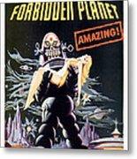 Forbidden Planet  Metal Print by Silver Screen