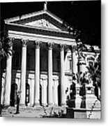 former national congress building Santiago Chile Metal Print