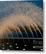 Fountain 2 Metal Print