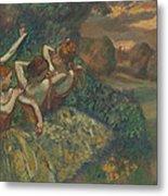 Four Dancers Metal Print by Edgar Degas
