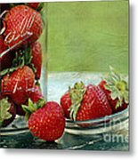 Fresh Berries Metal Print by Darren Fisher
