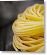 Fresh Pasta Metal Print