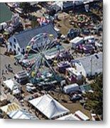 Fryeburg Fair, Maine Me Metal Print by Dave Cleaveland