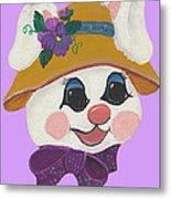 Funny Bunny Metal Print